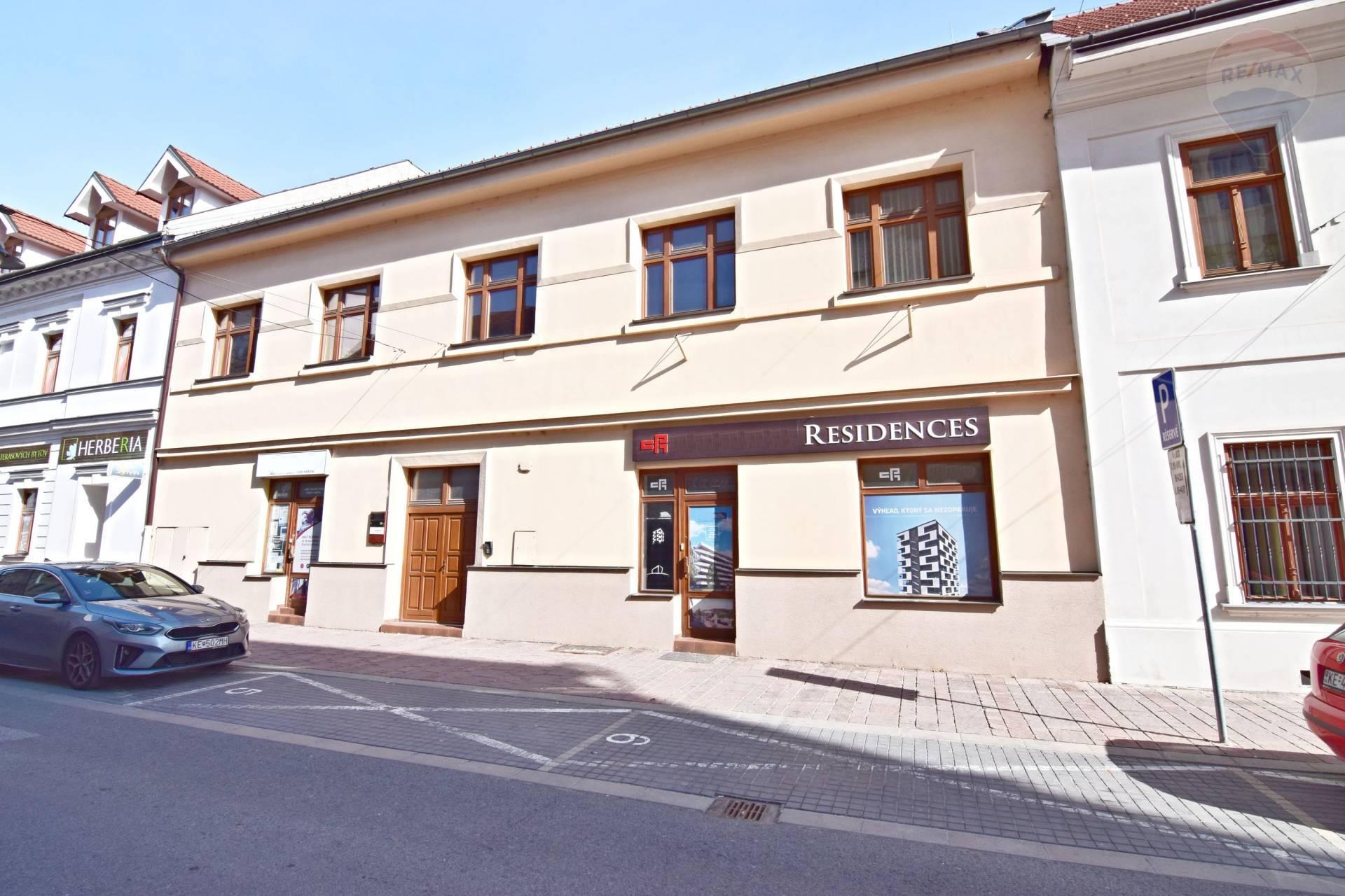 Administratívna budova v centre Košíc, ul. Kováčska, kompletná rekonštrukcia