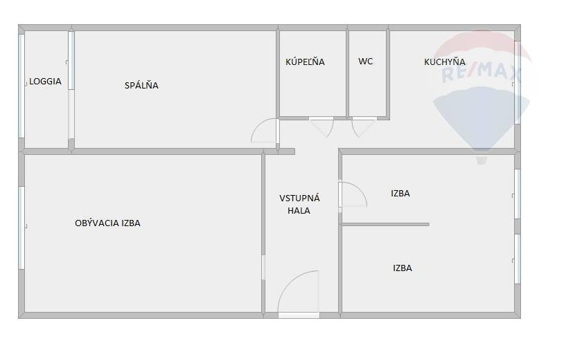 4 izbový byt na predaj