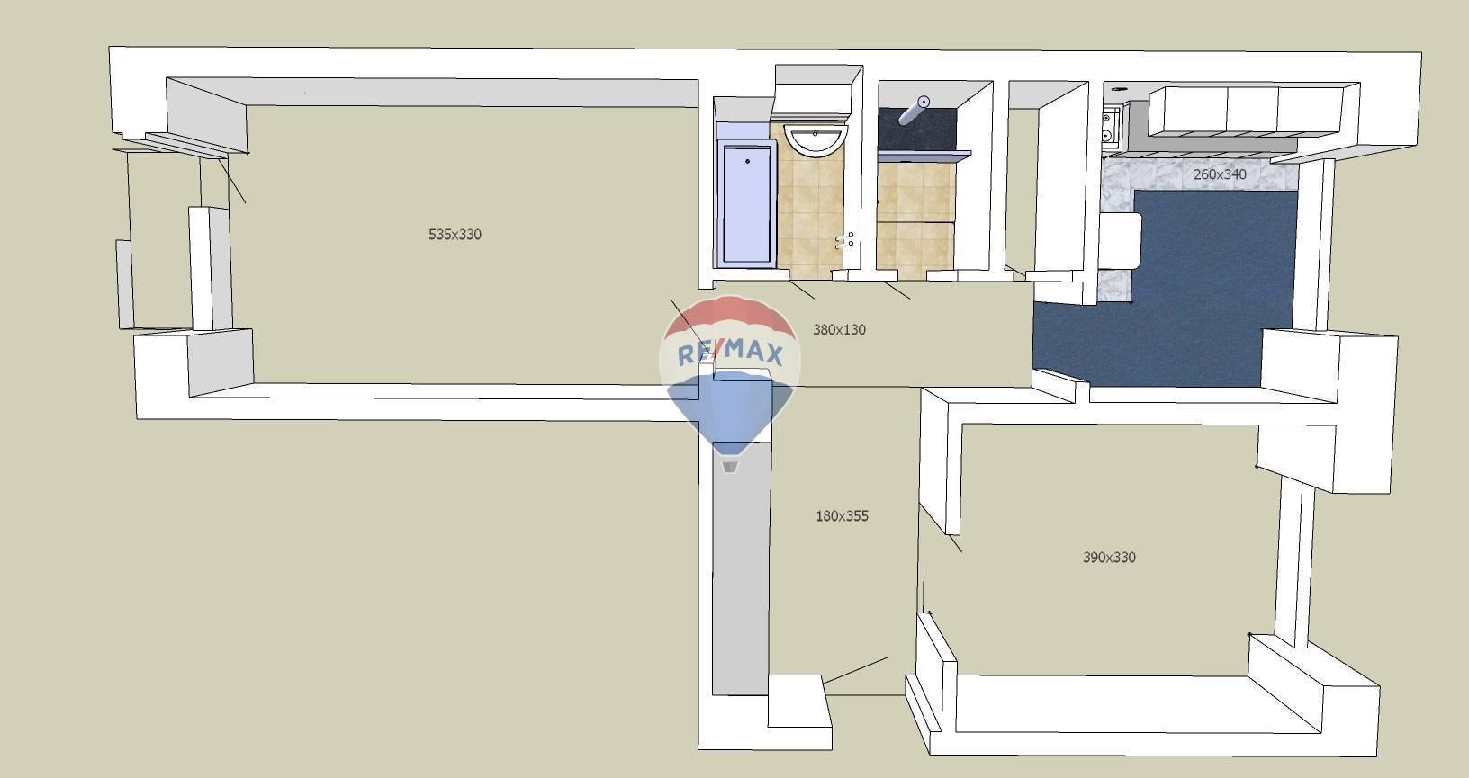 2 izbový byt na prenájom Košice, ulica Komenského / Apartment for rent, Komenského street