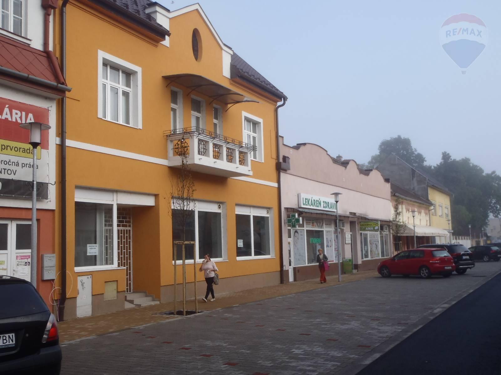 Prenájom komerčného objektu 370 m2, Lučenec -