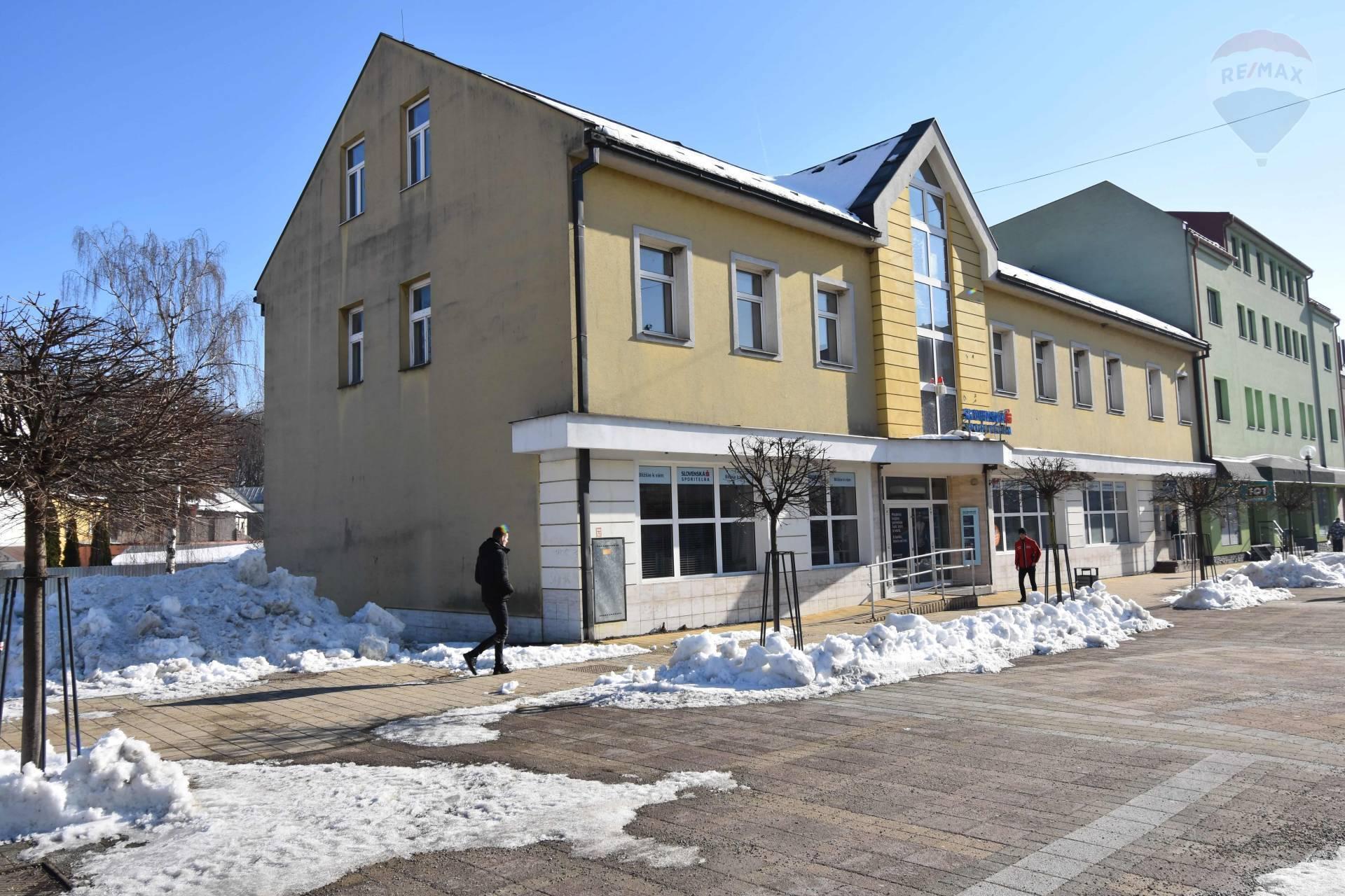 Predaj administratívna budova Vrútky