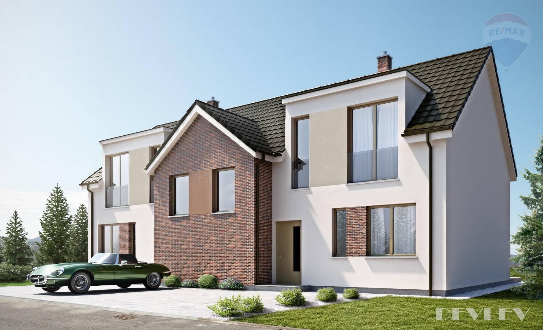 Predaj 5 izbový mezonetový byt v rodinnom dome, 120 m2,  Vlastný pozemok, Novostavba, Jarovce
