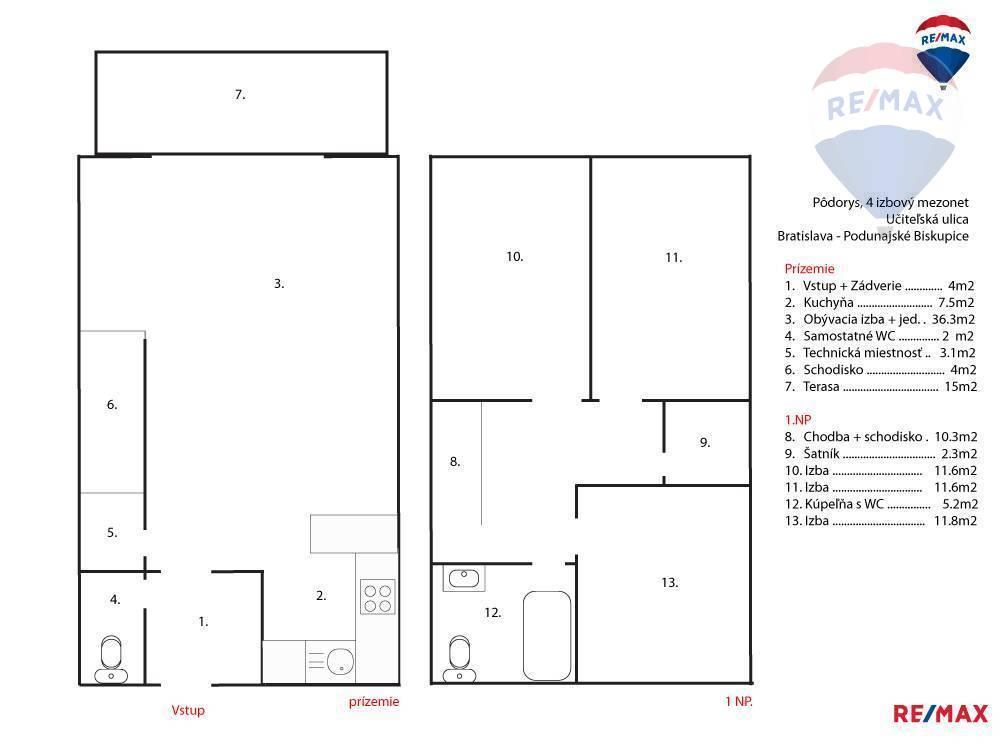 ❗❗NOVOSTAVBA ❗❗ NA PREDAJ 4 izbový byt s terasou a parkovaním na vlastnom pozemku