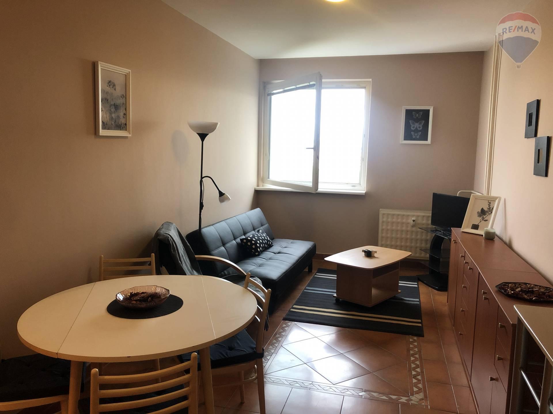 Predaj bytu (1 izbový) 40 m2, Bratislava - Vrakuňa - obývacia izba
