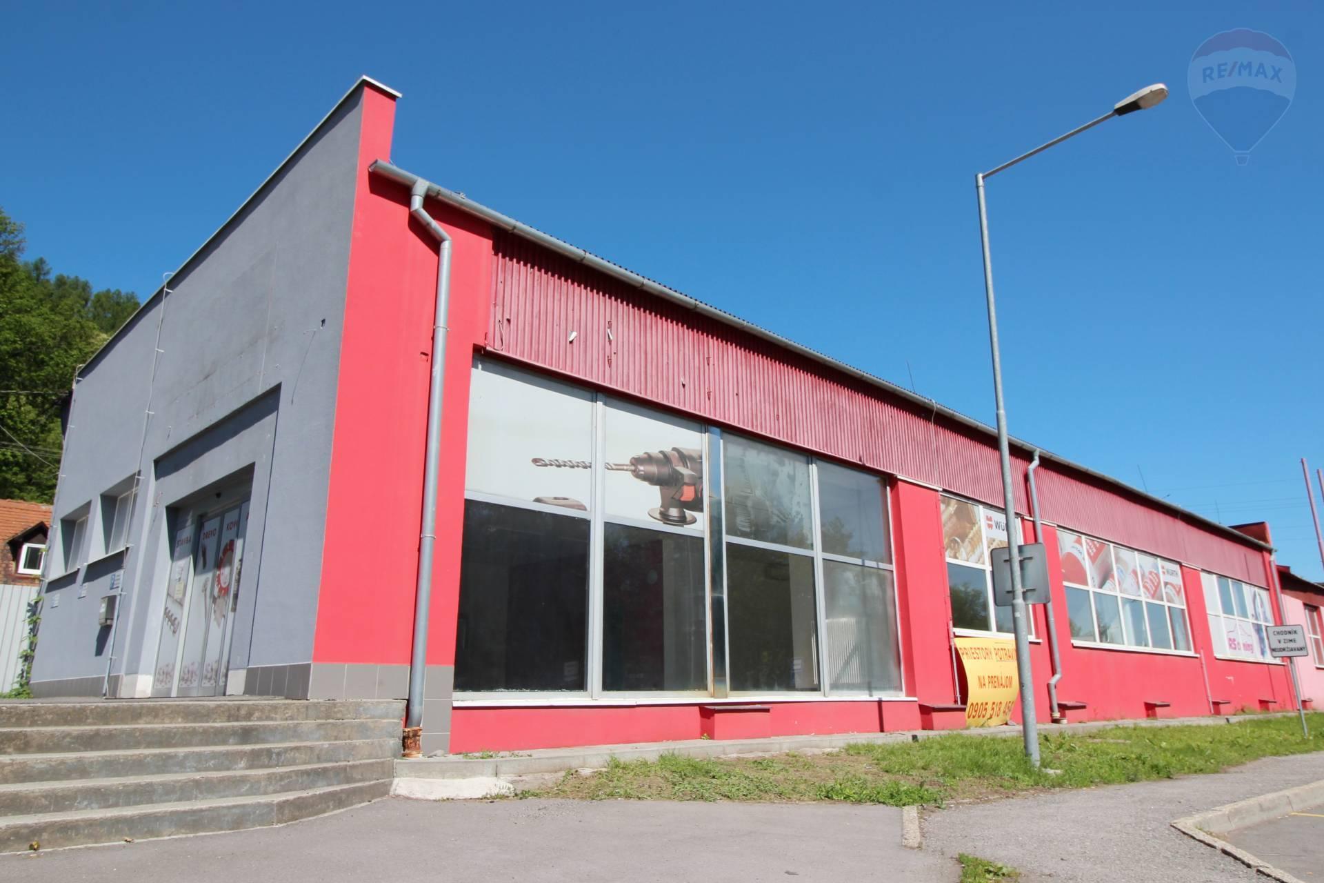 Prenájom komerčného priestoru 310 m²
