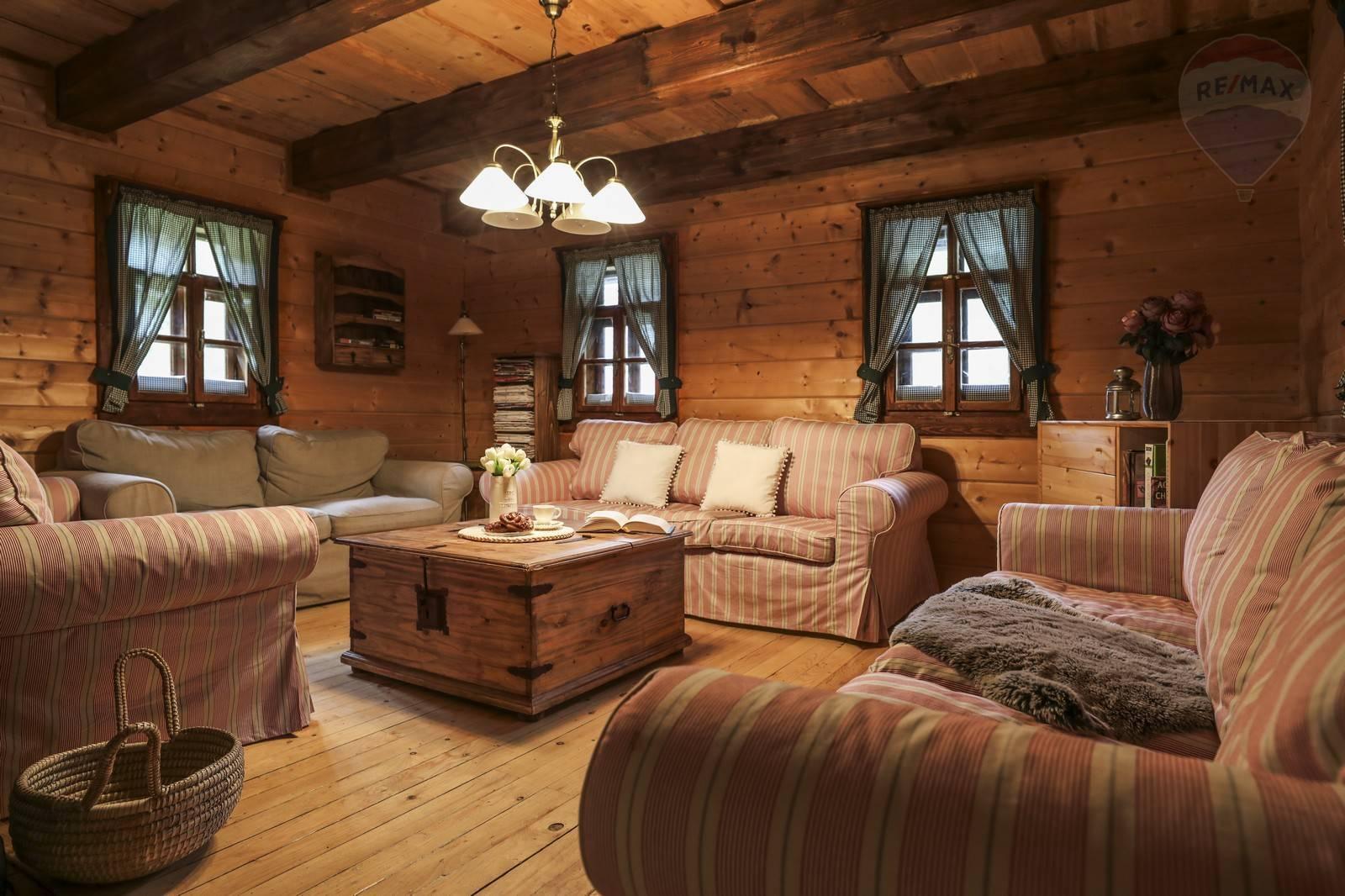 7-izbový drevodom Špania Dolina