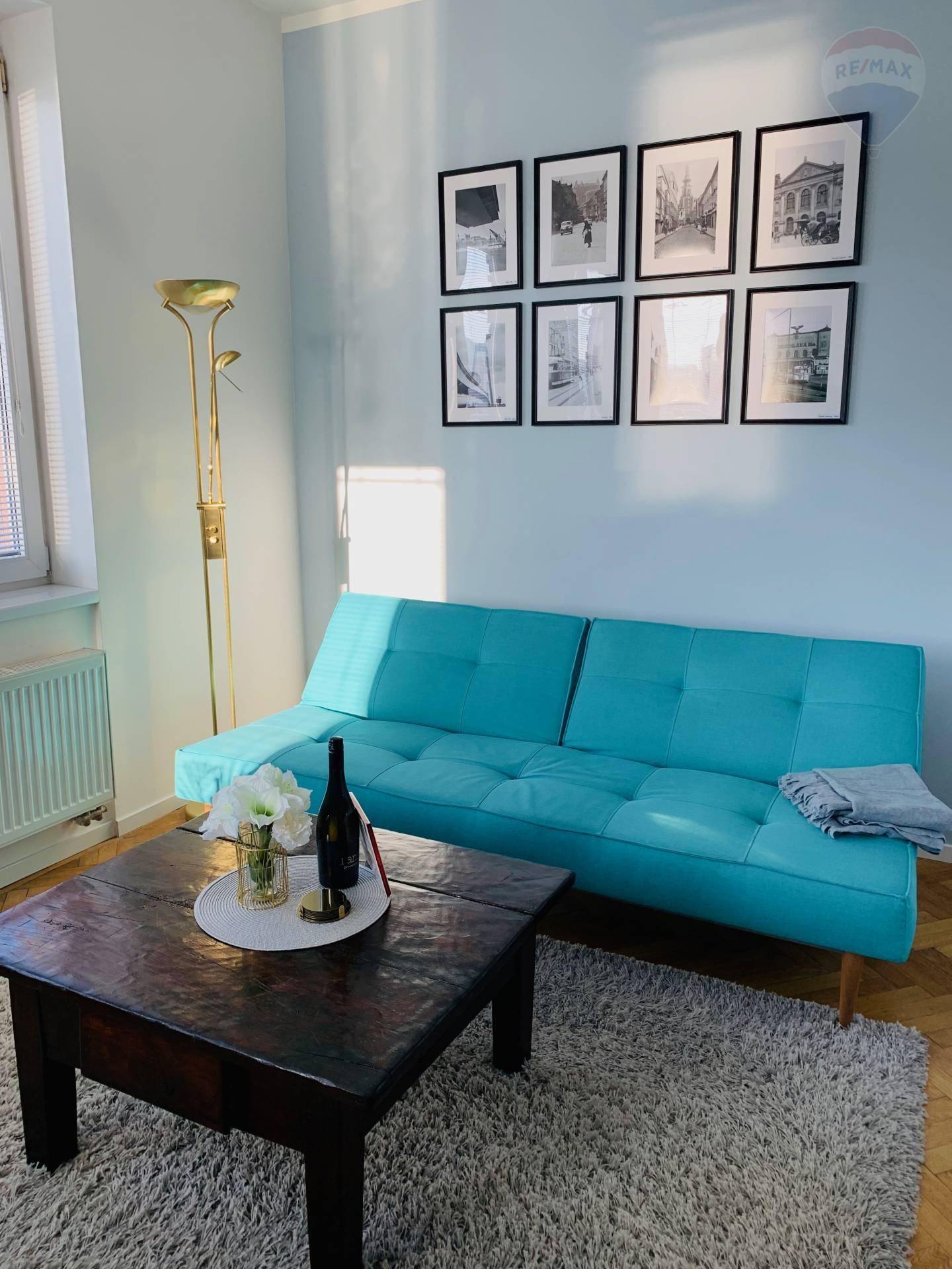 3 izbový exluzívny byt na prenájom v Starom Meste