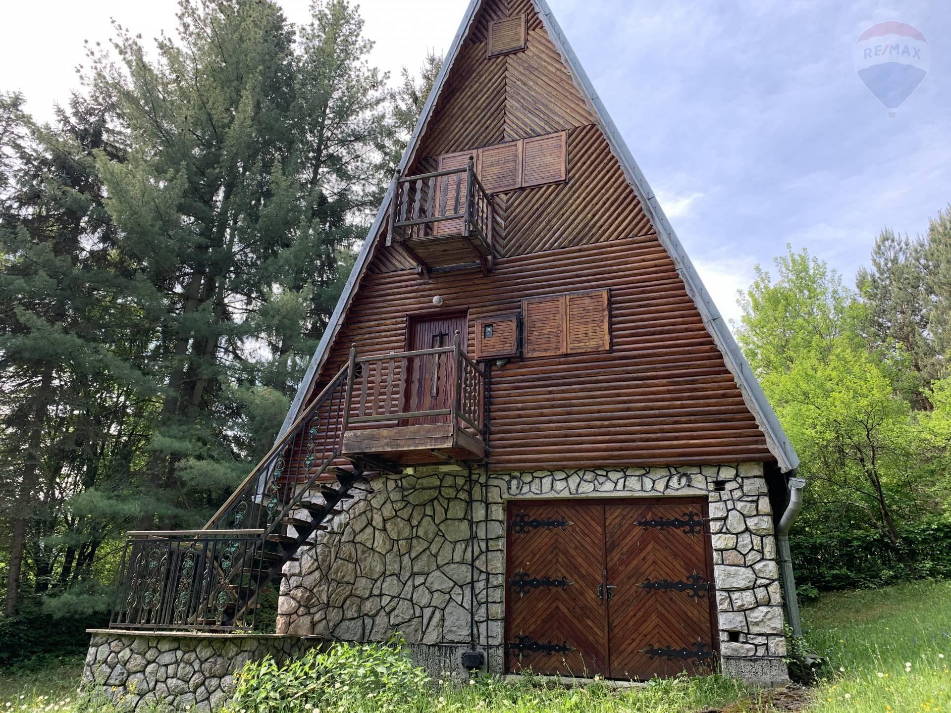 PREDAJ: Pekná chata v Bienska doline100m2,Zvolen