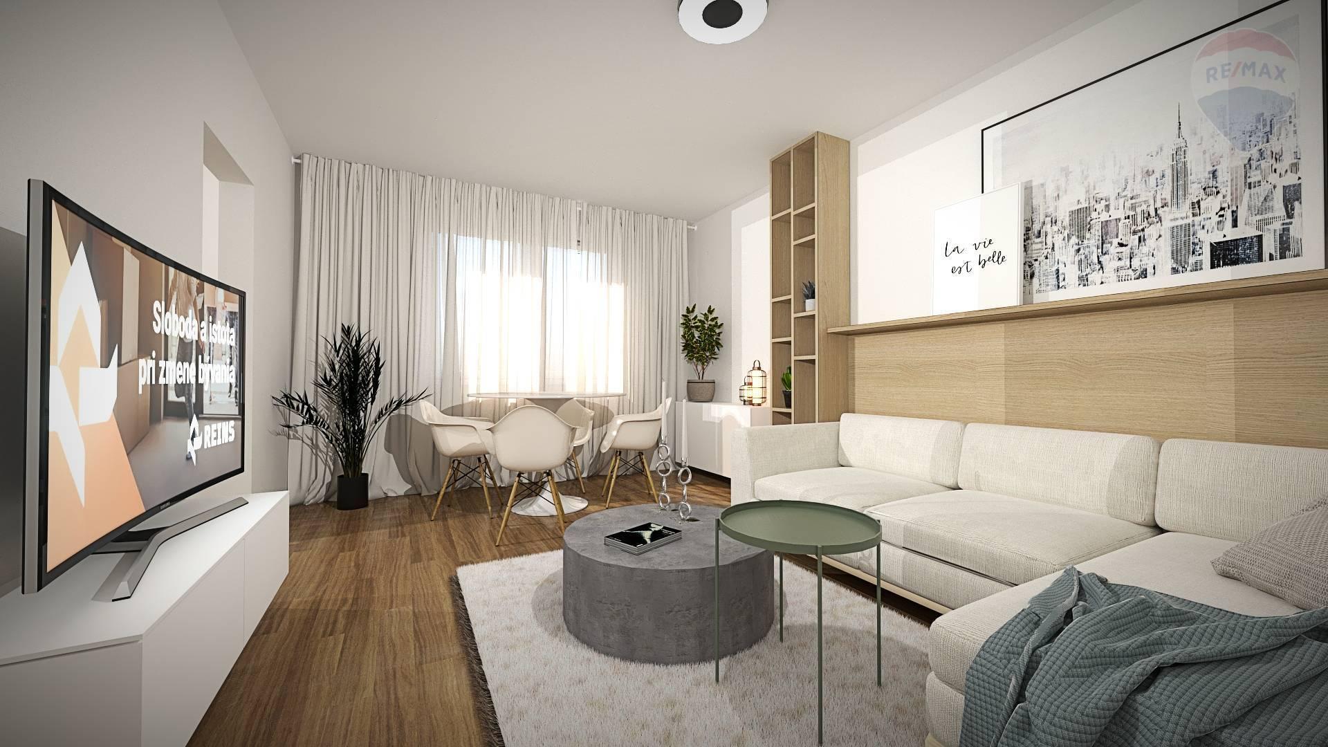 Predaj 3 izb. bytu po novej kompletnej rekonštrukcii, Lotyšská ulica