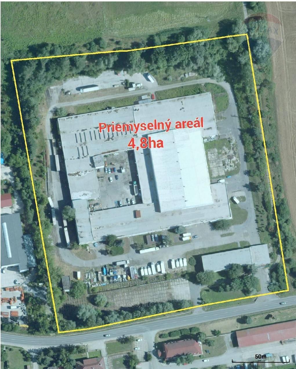 PREDAJ: Veľký priemyselný areál  pri Zvolene 5,6ha, Lieskovská cesta, Zvolen
