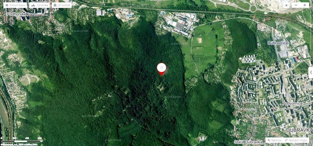 PREDAJ: Lesný pozemok, Devínska Nová Ves