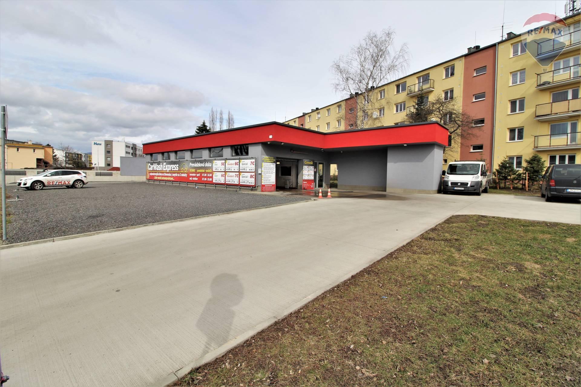 Na predaj Auto umyváreň v Liptovskom Mikuláši, na trase Tatralandia - Jasná