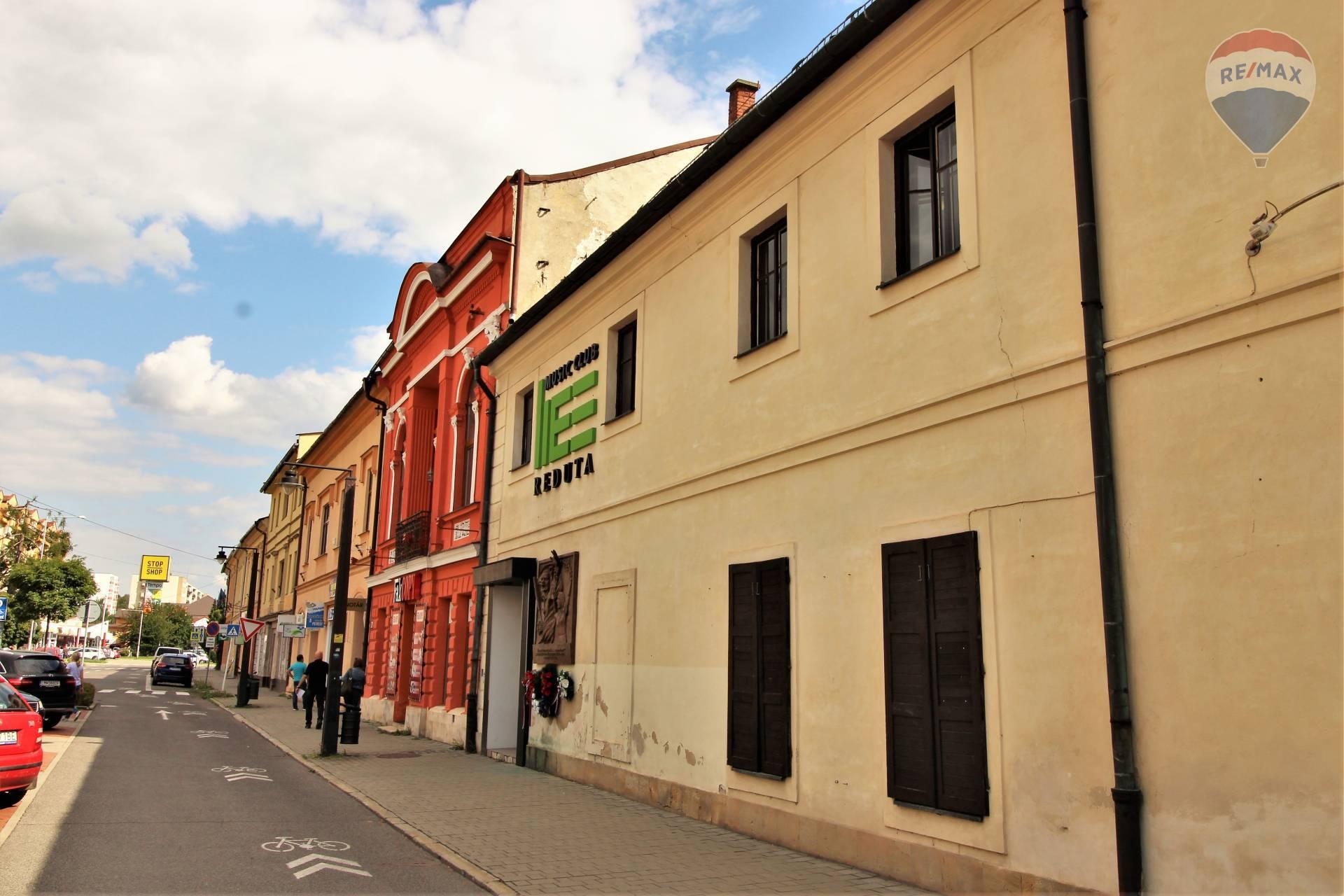 Na predaj budova v centre Liptovského Mikuláša