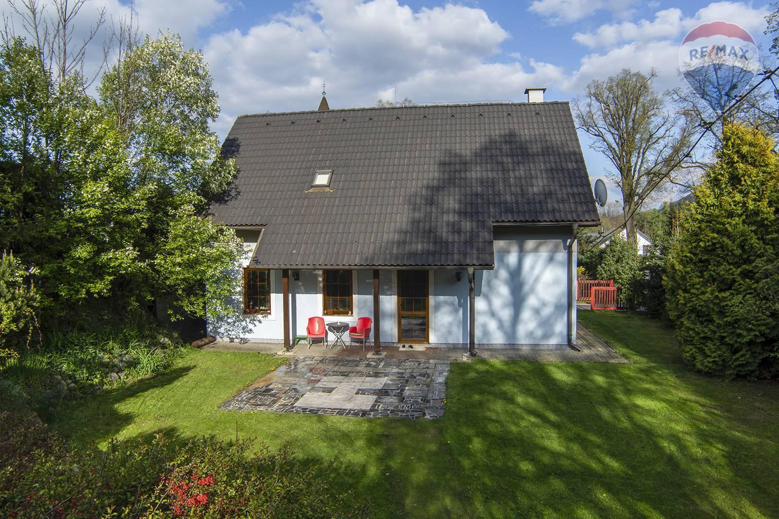 Predaj domu 136 m2, Liptovský Mikuláš - pohľad na terasu