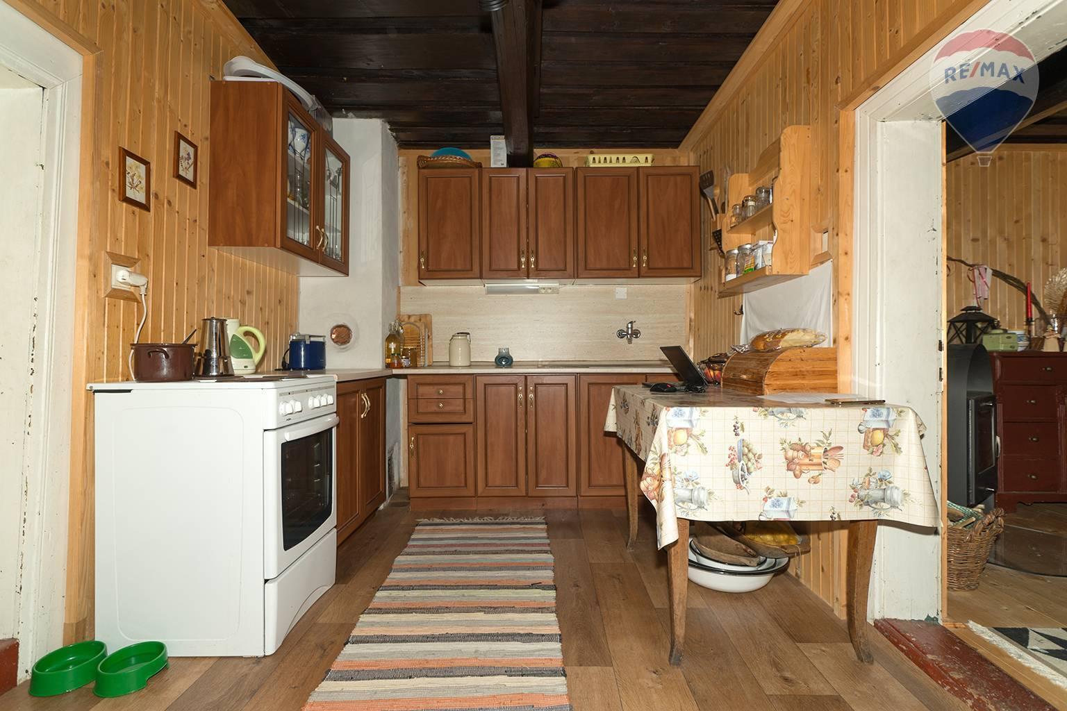 Predaj chaty 115 m2, Nižná Boca - kuchyňa