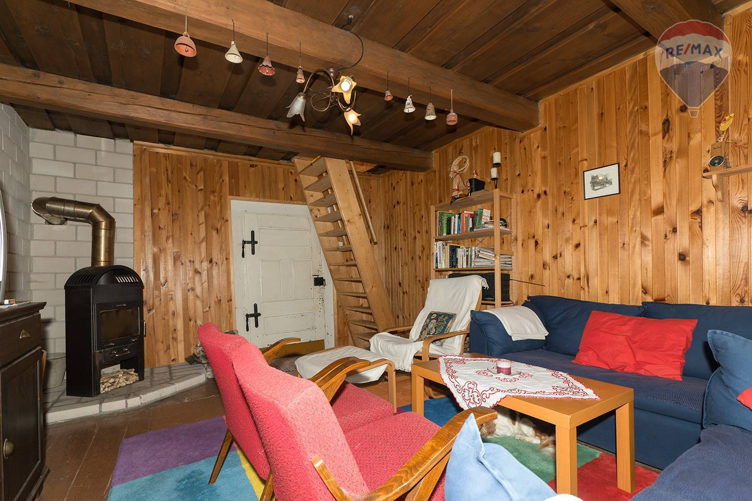 Predaj chaty 115 m2, Nižná Boca - spoločenská miestnosť