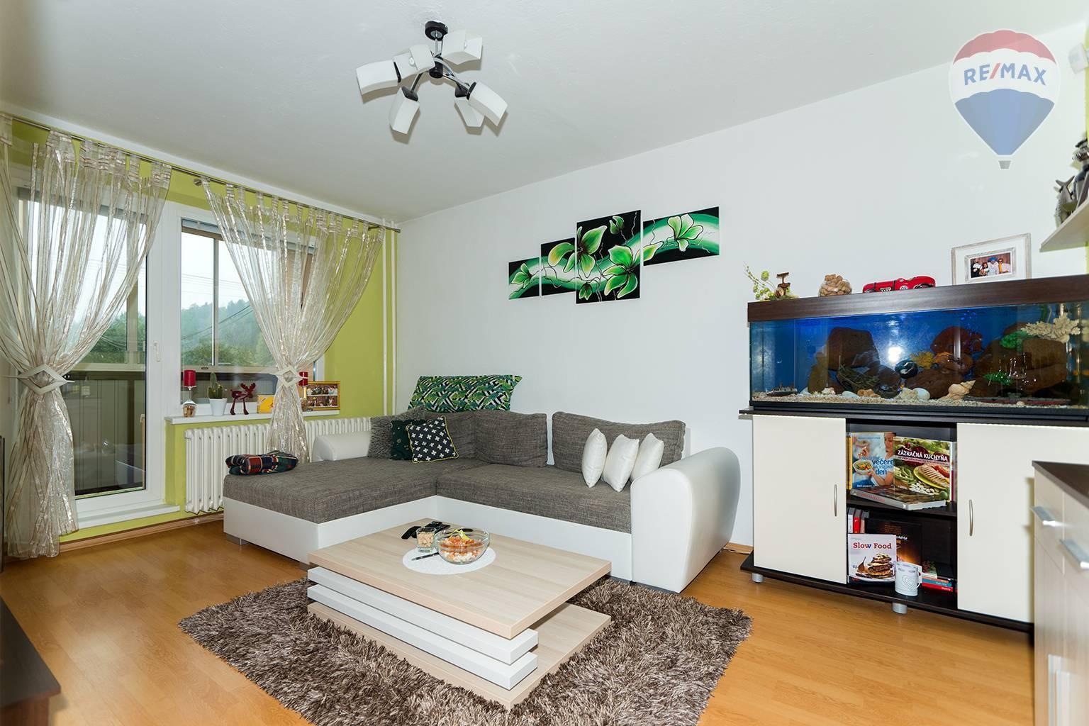 Nová cena: 3 izbový byt, Liptovský Hrádok