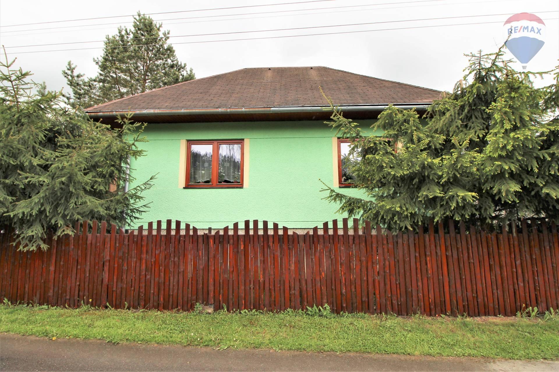 Na predaj rodinný dom, chalupa v obci Gôtovany, Liptov