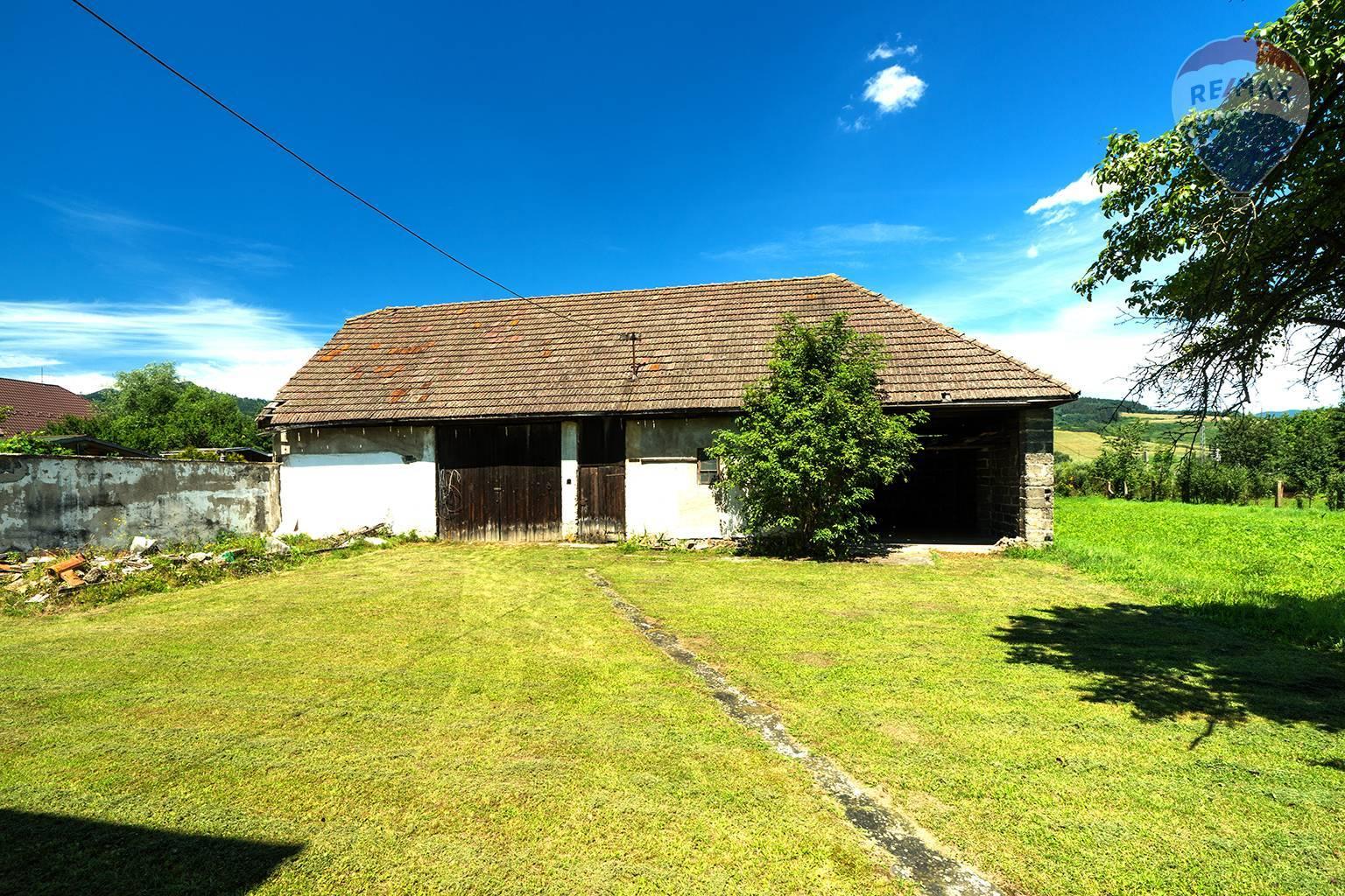 Predaj domu 410 m2, Liptovská Teplá - humno