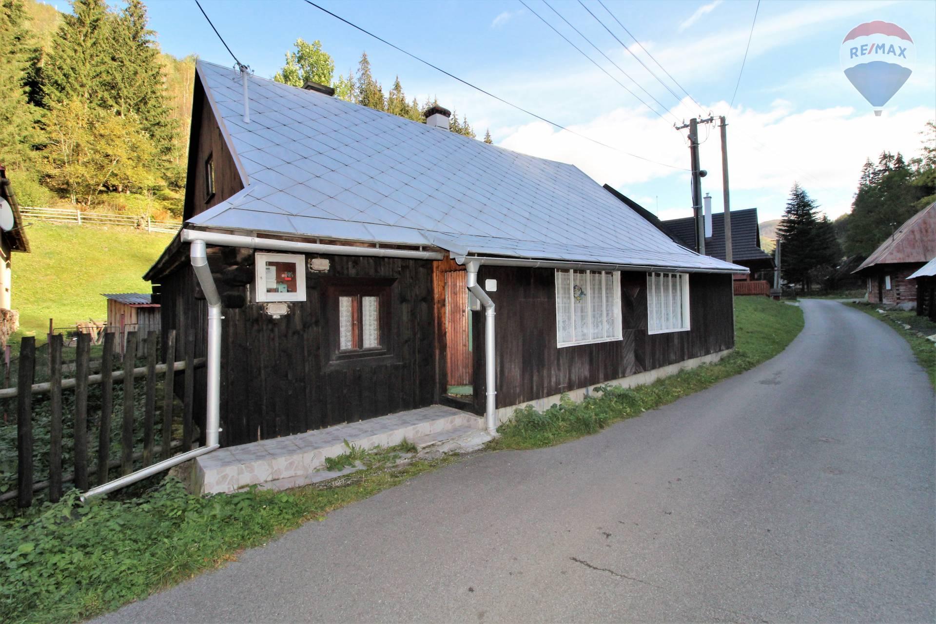 Na predaj rodinný dom- chalupa- Vyšná Boca, Liptov