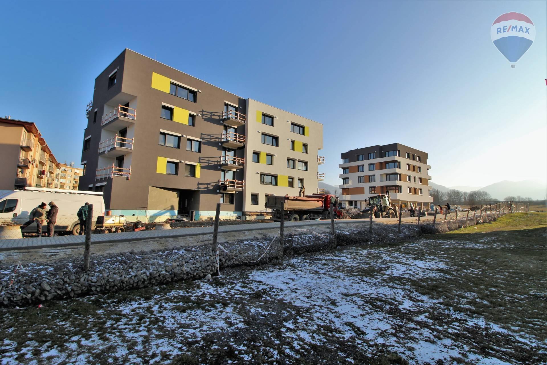 Na predaj nové 2-3 izbové byty v projekte Nová Palúdzka