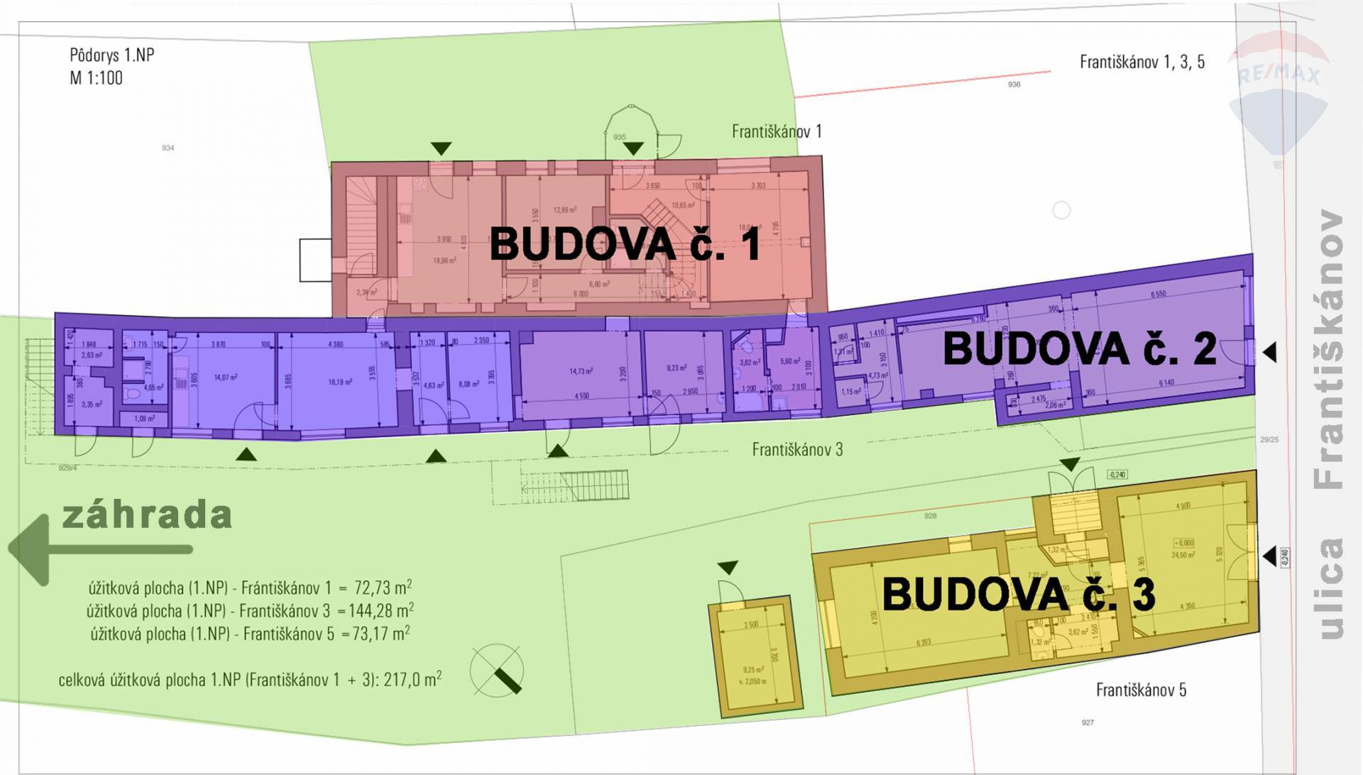 INVESTIČNÁ PRÍLEŽITOSŤ - Polyfunkčná budova so zaujímavým výnosom v centre mesta Komárno na predaj