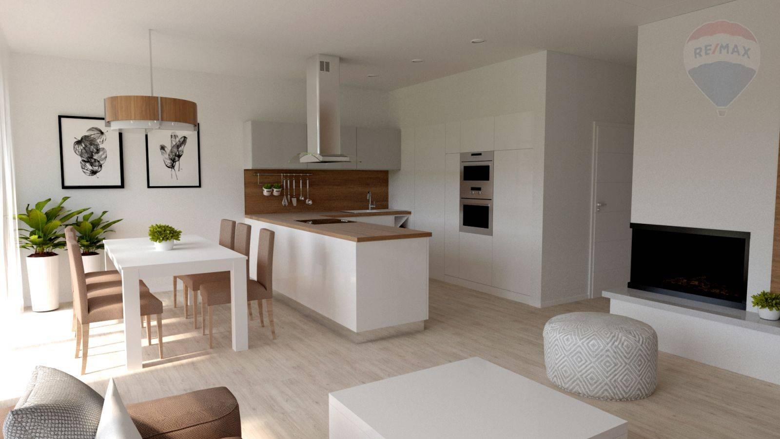 Predaj domu 100 m2, Šamorín - vizualizácia kuchyňa
