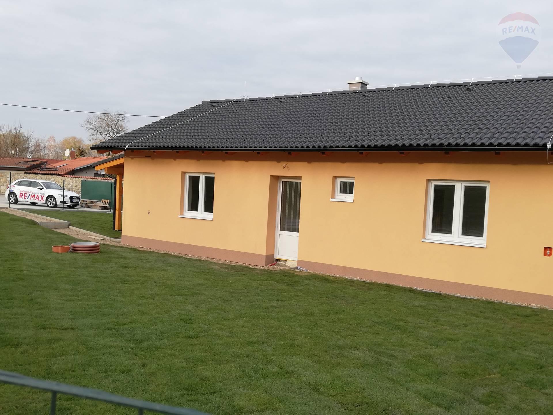 Na predaj priestranný  3 izbový rodinný dom  v obci Kyselica NOVOSTAVBA!