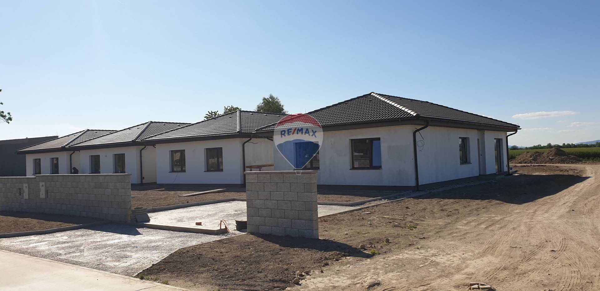 Novostavba 4 izbového rodinného domu