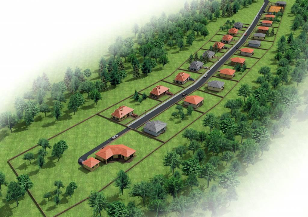 Predaj stavebných pozemkov Prievidza Kľačno