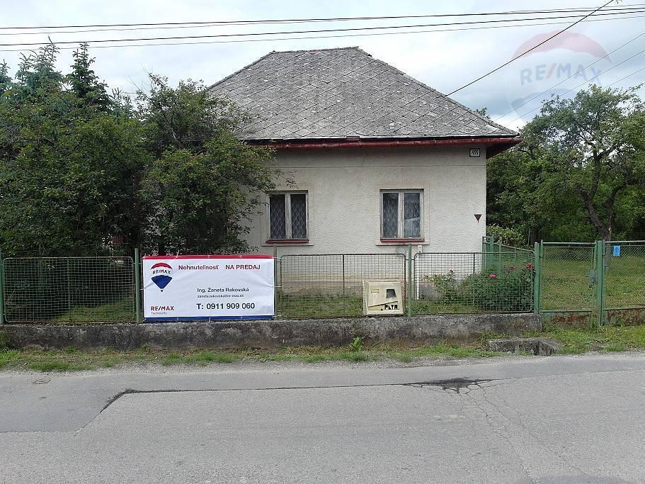 PREDAJ Rodinný dom s väčším pozemkom -  Diviacka Nová Ves - znížená cena!!!