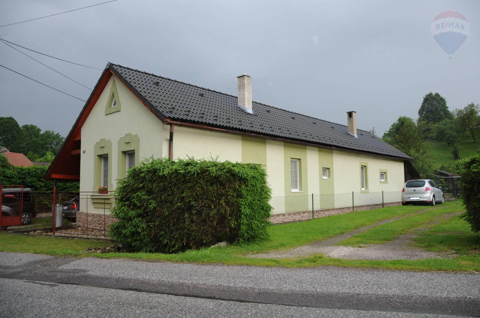REZERVOVANÉ !!! Samostatný rodinný dom v obci Kľačno, okr. Prievidza