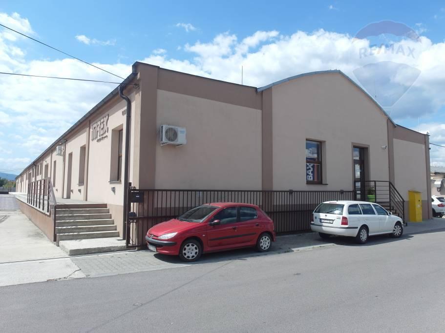 PRENÁJOM Skladové/výrobné obchodné priestory Prievidza