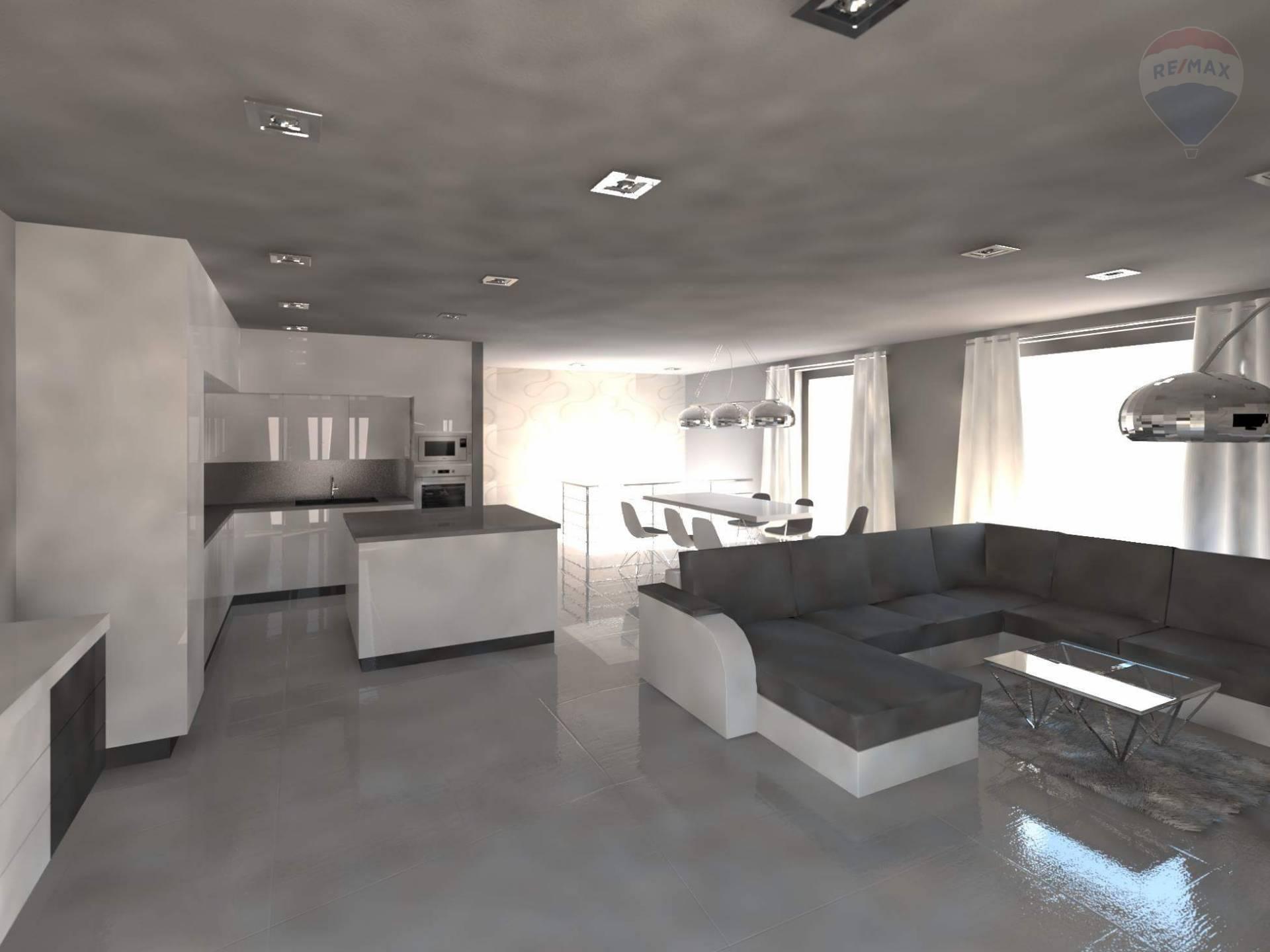 REZERVOVANÝ PRENÁJOM -4- izb. apartmán - novostavba Prievidza