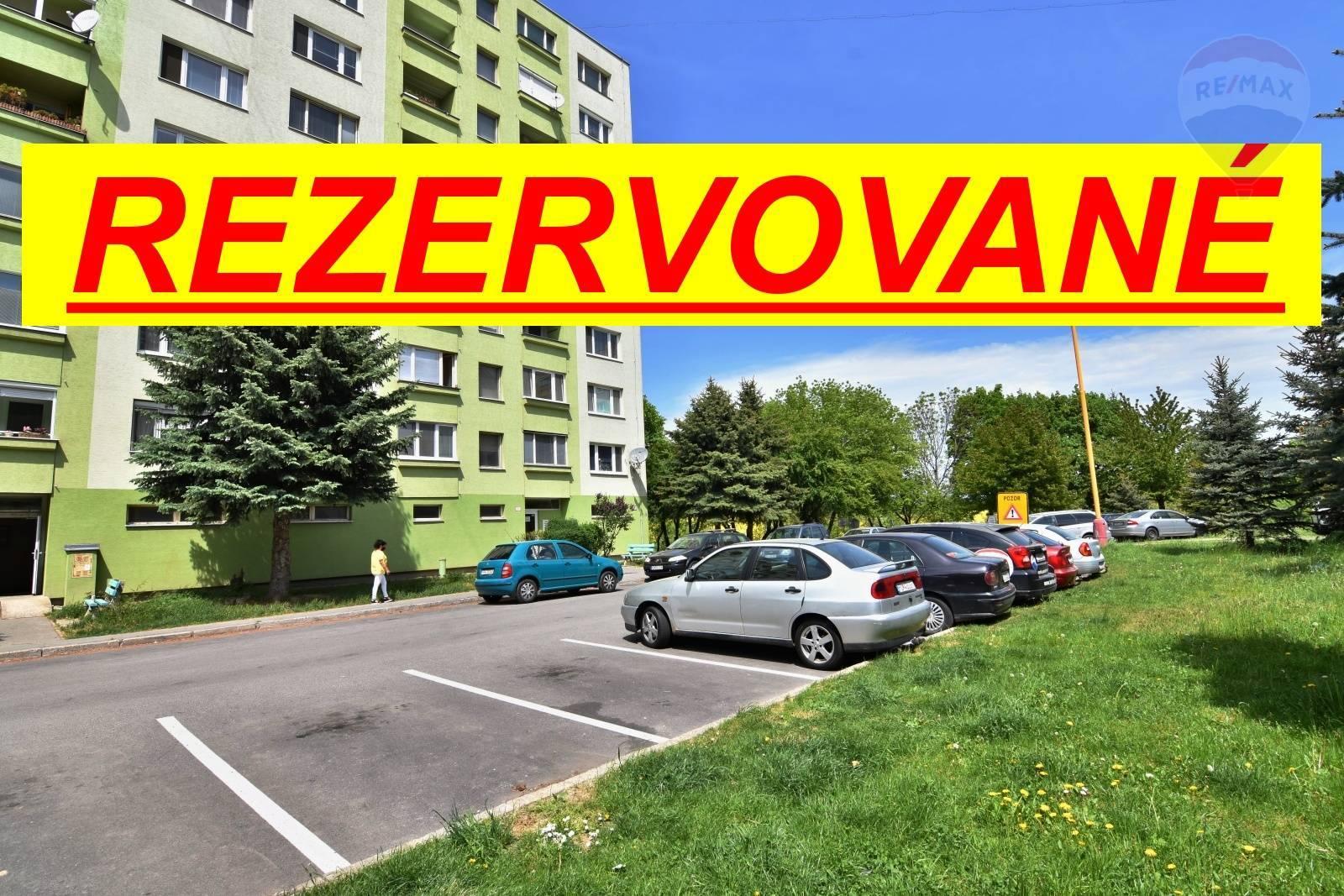 REZERVOVANÉ 1-izbový byt Prievidza sídlisko Zápotôčky 37,5m2