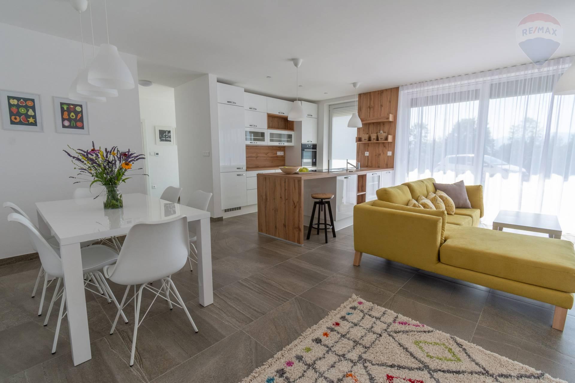 PRENÁJOM - komplet zariadený 3 izb. apartmán v novostavbe Bojnice