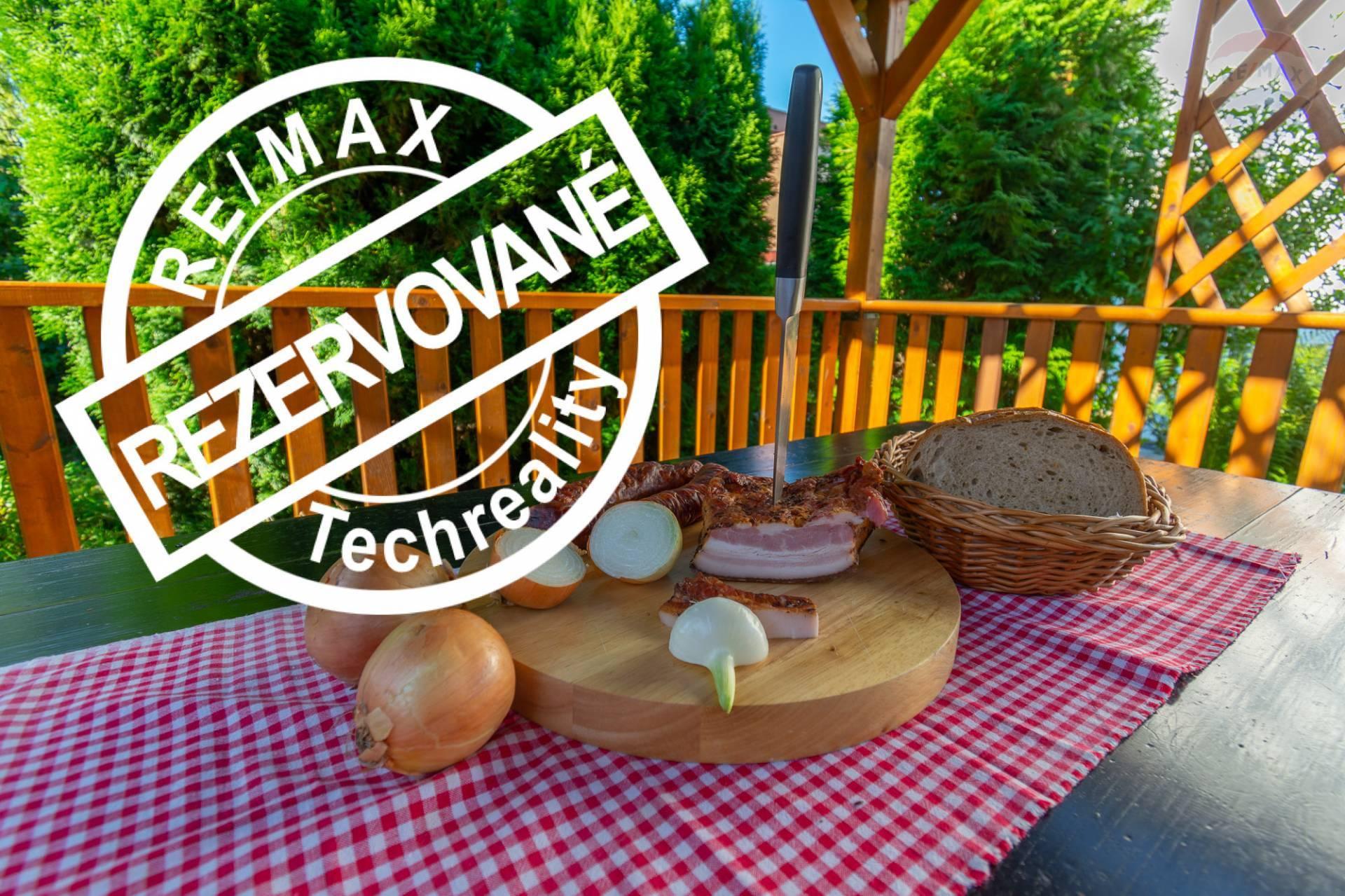 REZERVOVANÉ !!! Piknik na vlastnej chate, altánok, záhrada, blízko voda !!!