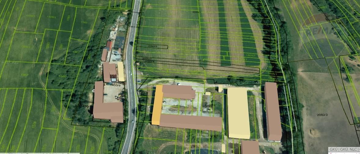 Pozemok pre komerčnú výstavbu