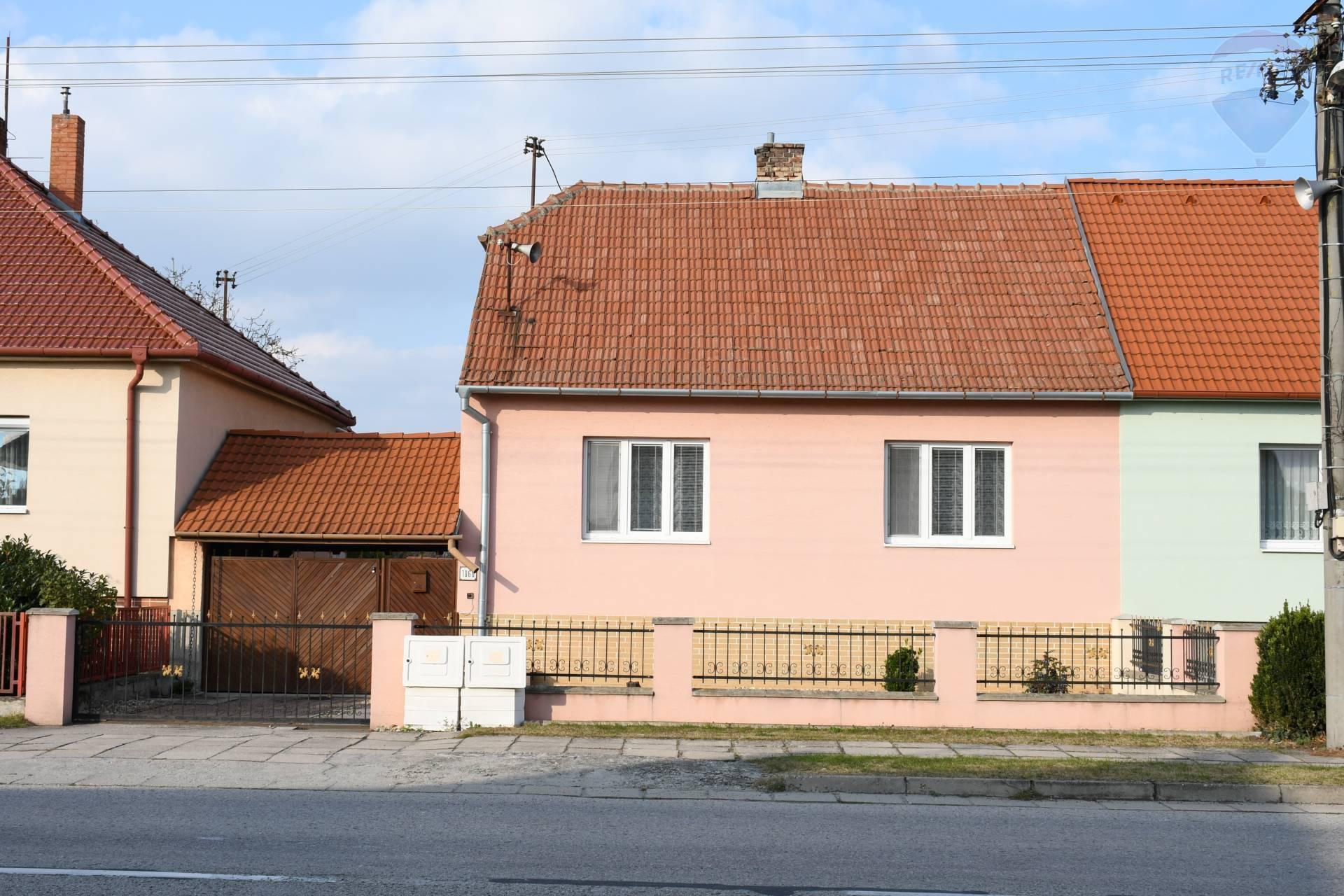 Na predaj 4 izbový rodinný dom na komerčné využitie v meste Kúty.