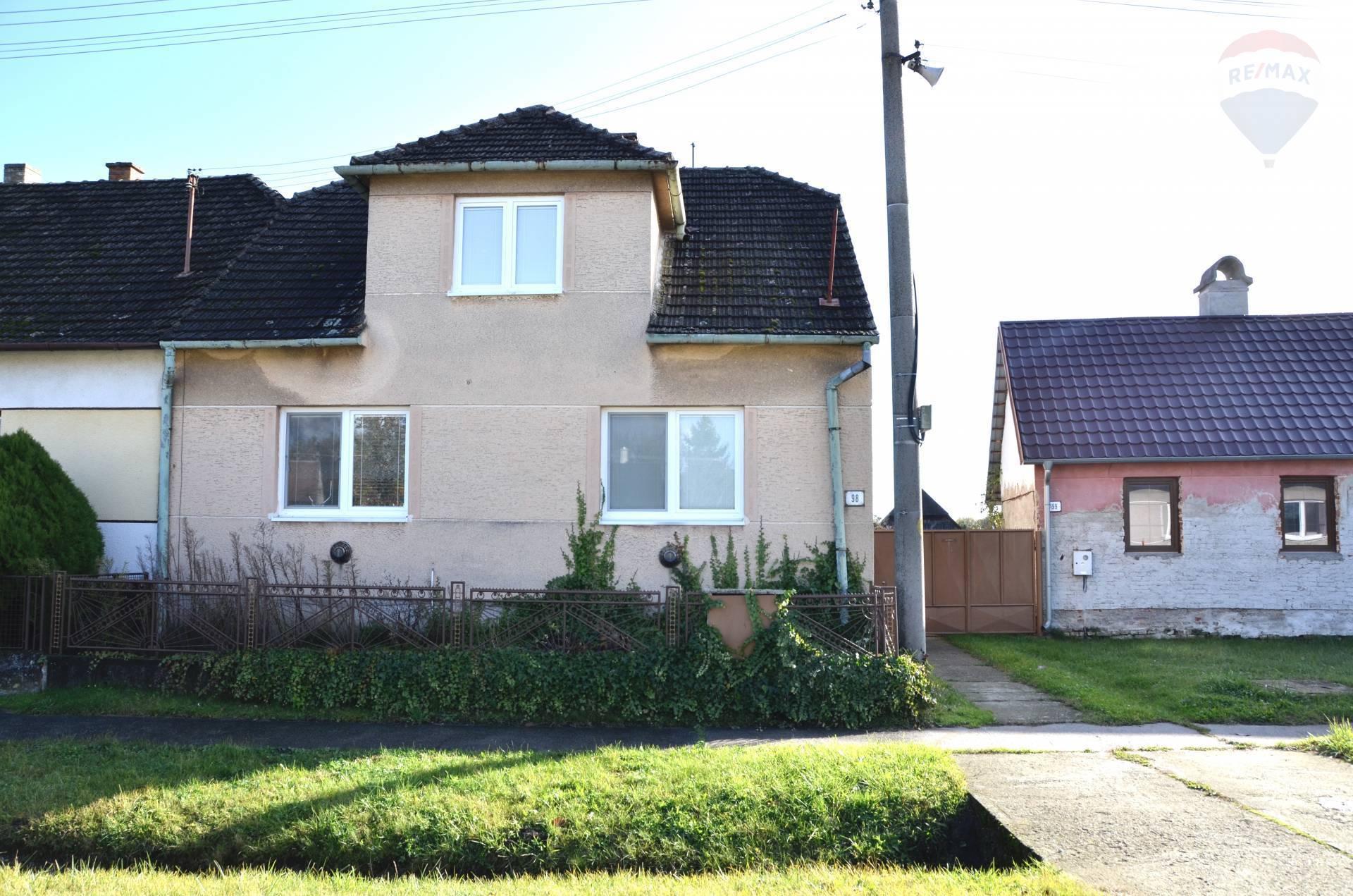 Na predaj 3-izbový rodinný dom v obci Kuklov