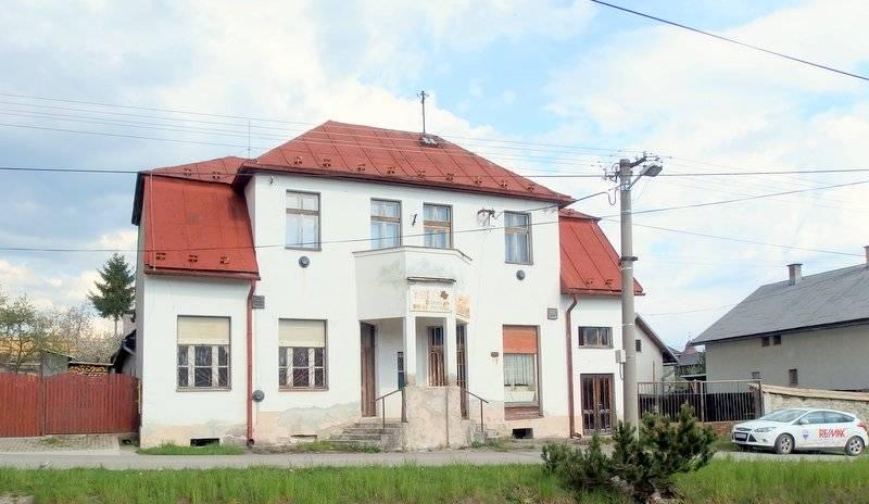 Predaj: obchodná budova s bytovou jednotkou