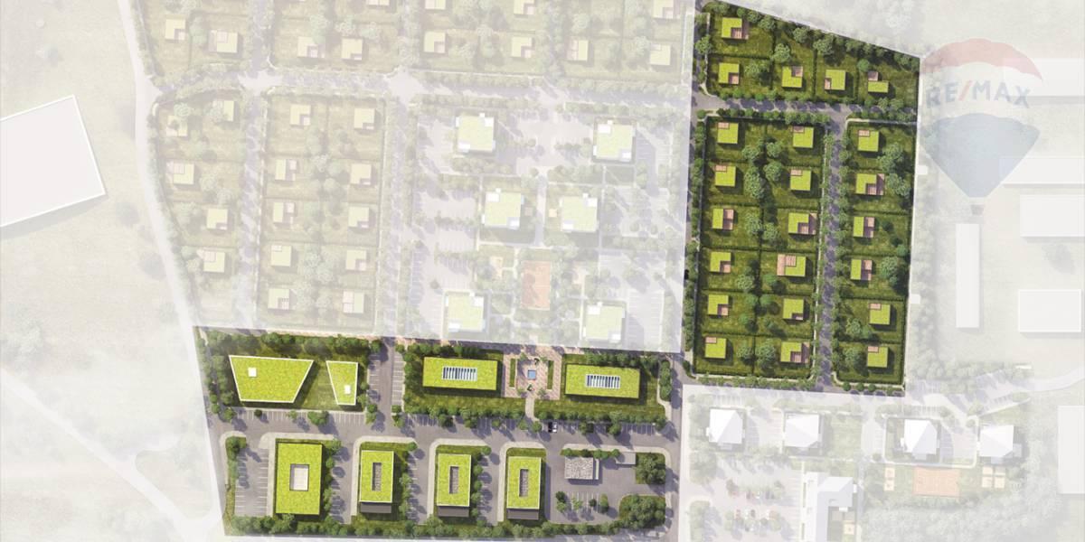 """Stavebné pozemky  občiansku vybavenosť, pozemok č.F2.1 - 2787 m2  """"Kasárne"""" Brezno"""