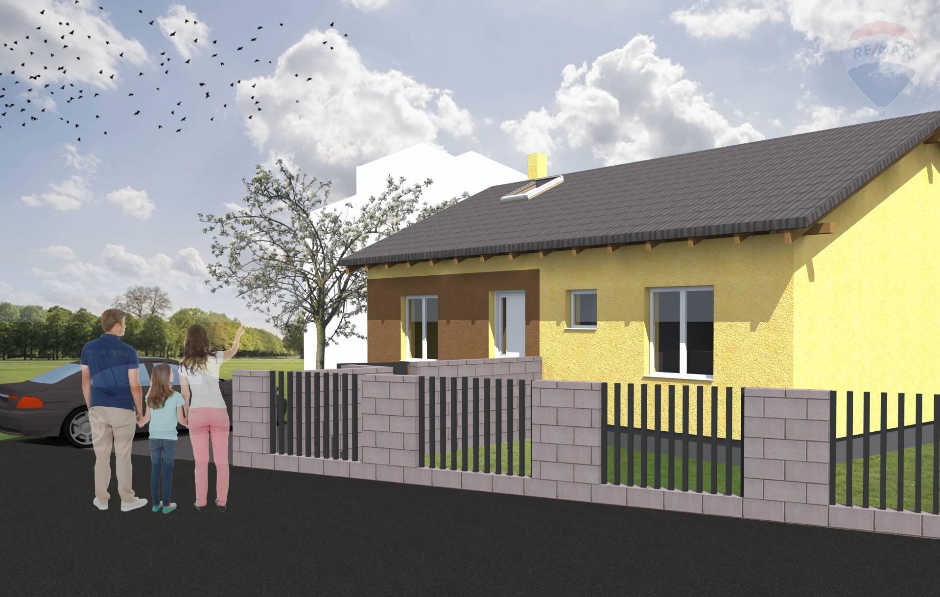 Predaj: rozostavaná stavba rodinného domu v tichej uličke obce Podbrezová