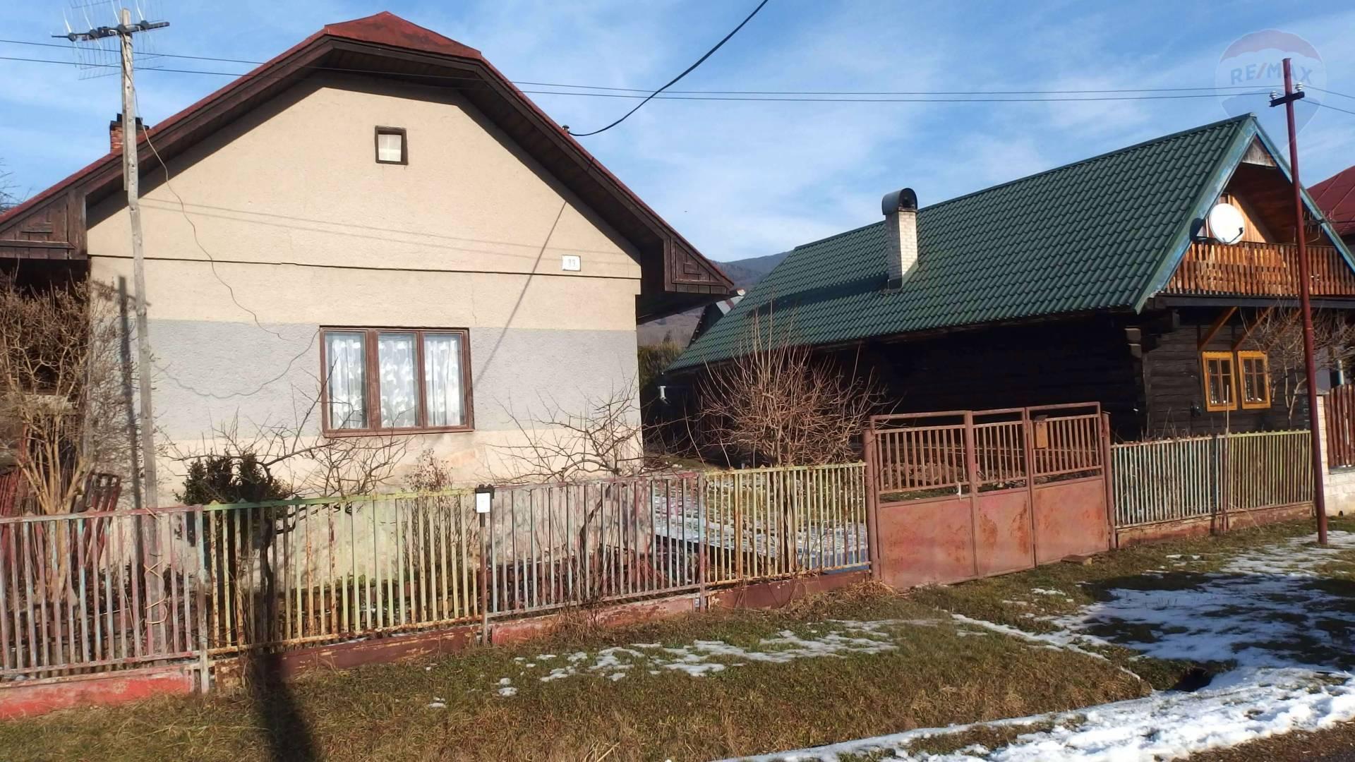 Predaj chaty 67 m2, Braväcovo - Predaj: Chalupa alebo trvalé bývanie, Brezno - Braväcovo