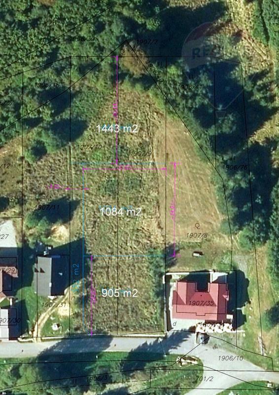 Predaj pozemku /1084m2/ na Beňuši