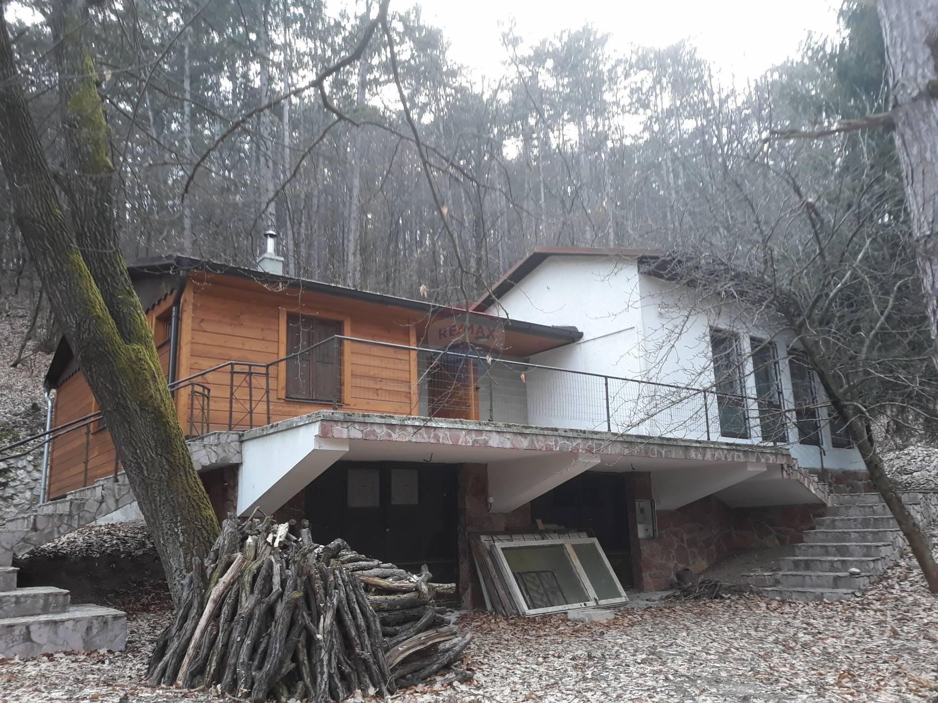 =RE/MAX= Na predaj priestranná chata pod lesom, 192 m2 zastavanej plochy,