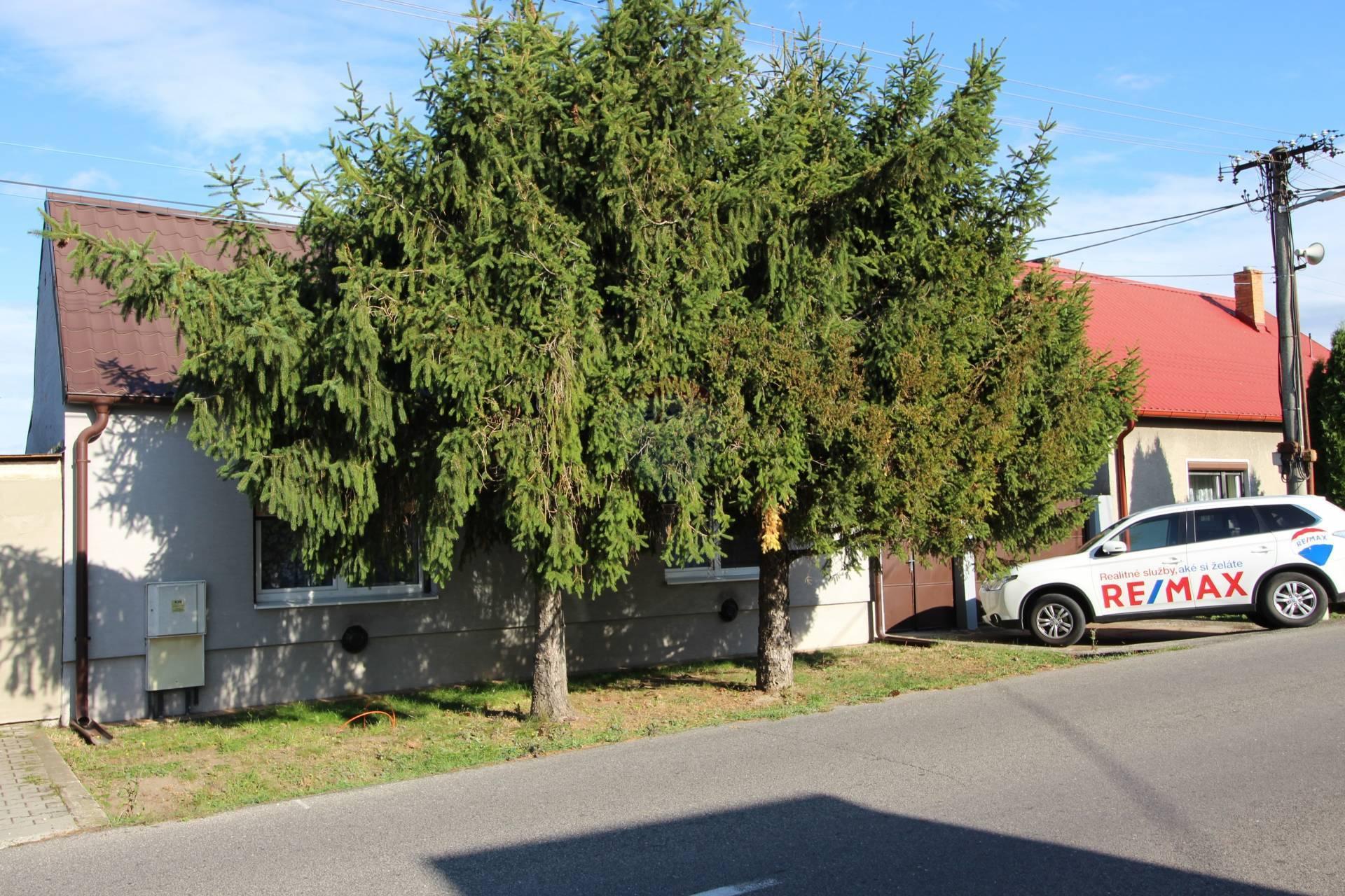 =RE/MAX= Na predaj rodinný dom, Hrnčiarovce nad Parnou, 479 m2 pozemok