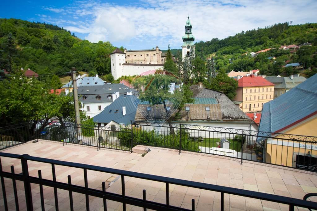 Predaj historického objektu 934 m2, Banská Štiavnica -