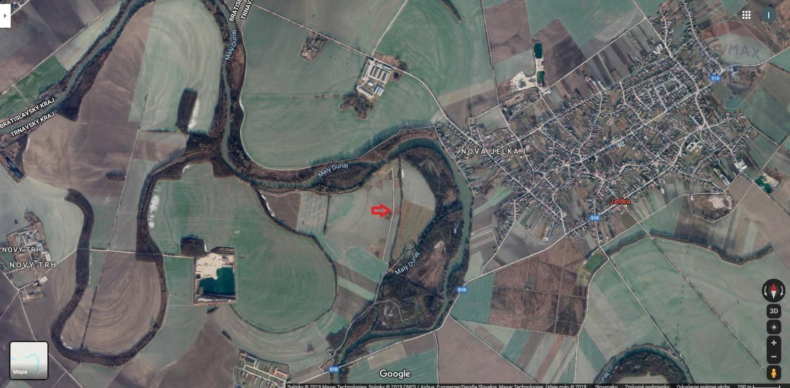 Na predaj pozemok v obci Nový Život časť Eliášovce