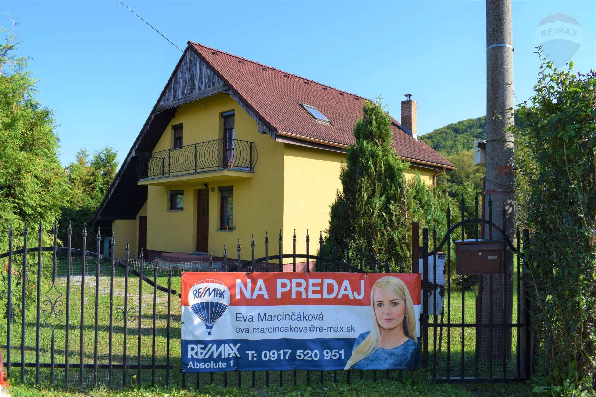 PREDANÉ Rodinný dom v obci Udavské.